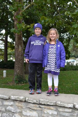 We have always been big fans of K-State because many of my friends and my late husband went to school there. We usually attend a couple of football games a year. EMAW