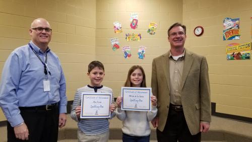 Spelling bee winner & runner-up