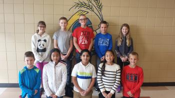 Thinking Cap Quiz Bowl participants 2017