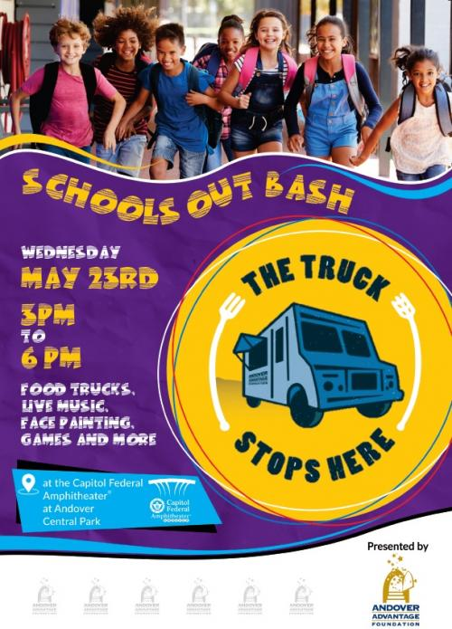 AAF Truck Stops Here Flyer - Wednesday, May 23rd from 3-6pm.