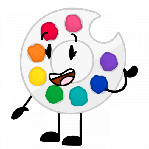 cartoon palette