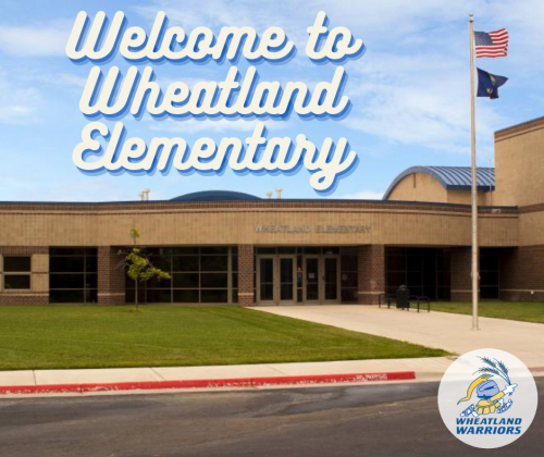 Welcome to Wheatland Elementary - picture of our school
