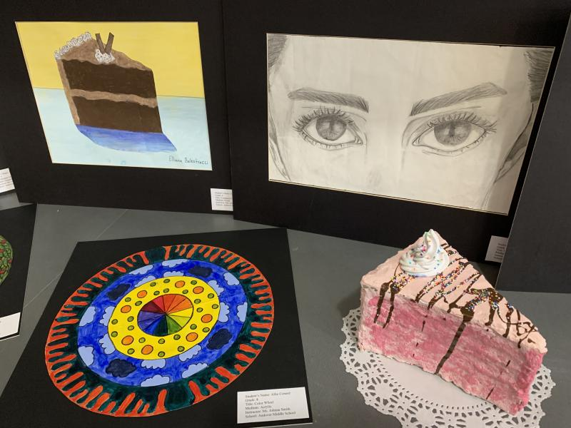 AMS STUDENTS RECOGNIZED AT COUTTS ART MUSEUM
