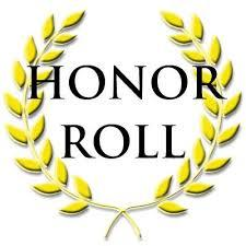 THIRD QUARTER HONOR ROLL-WHITE