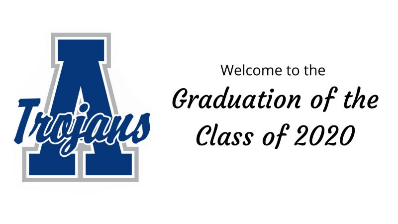 Watch the 2020 AHS graduation ceremony, caravan