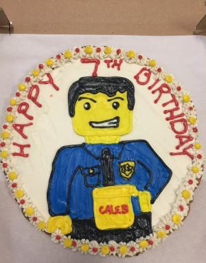 Lego City Cookie Cake