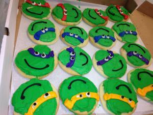 Student Creation-- Ninja Turtles
