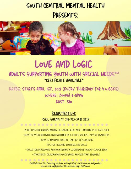 Love and Logic special needs