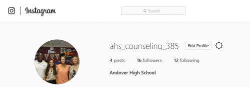 A picture of the AHS Counseling staff.