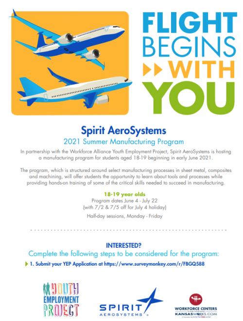 Spirit Internship Information