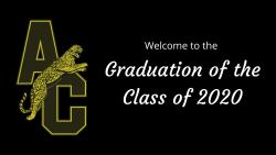 Watch the 2020 ACHS graduation ceremony, caravan