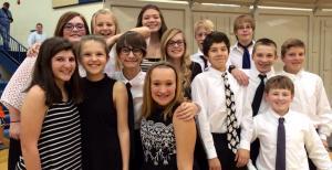 ACMS Pioneer League Honor Choir Singers