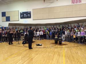 Pioneer League honor Choir Performance