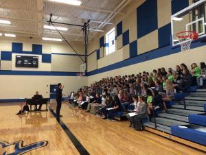 Pioneer League Honor Choir Rehearsal