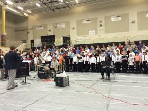 SCKMEA District Honor Choir Rehearsal