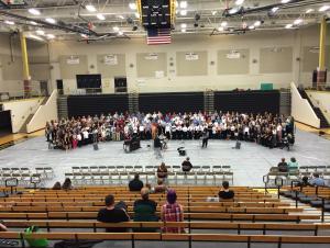 SCKMEA District Honor Choir Rehearsal 2015