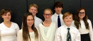 ACMS SCKMEA District Honor Choir Singers 2015