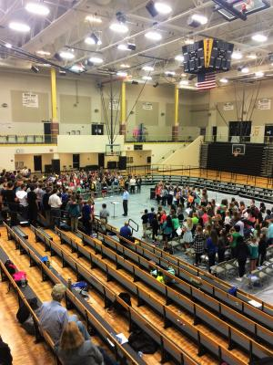 SCKMEA Middle School Honor Choir 2016