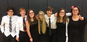 SCKMEA Honor Choir MS Singers 2016