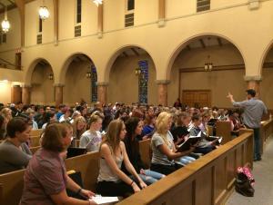 Professional Wichita Chamber Chorale KMEA prep workshop