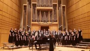 ACHS Chorale (New Generation) singing on WSU's Fall Concert