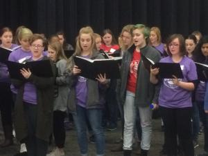 Four Voices Only Vocal Workshop at Butler Community College 2017