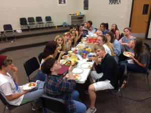 Chamber Chorale End Of Year Potluck 2017