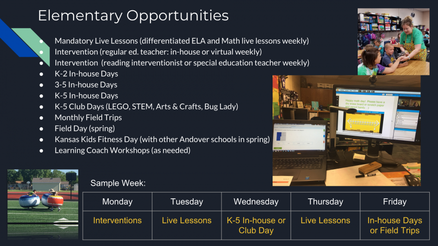 Elementary Blended Opportunities