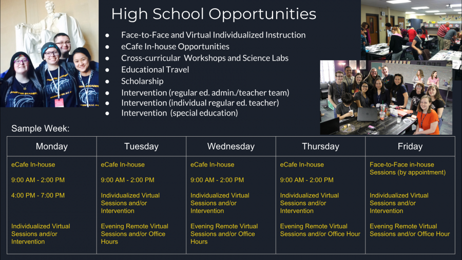 High School Blended Opportunities