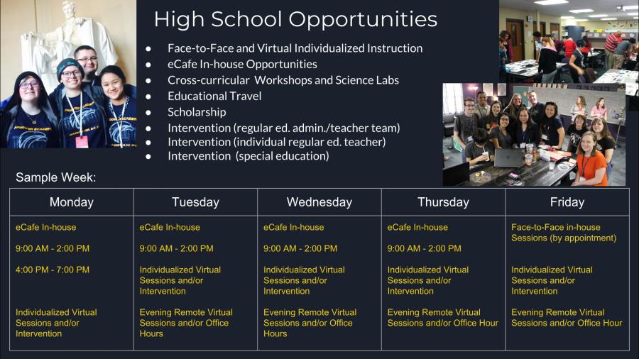 High School Blended Opportunities