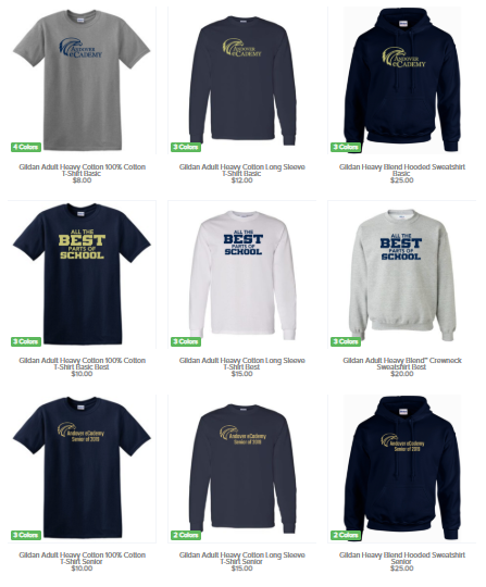 School Store Preview