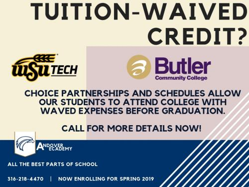 Tuition-Waived Credit