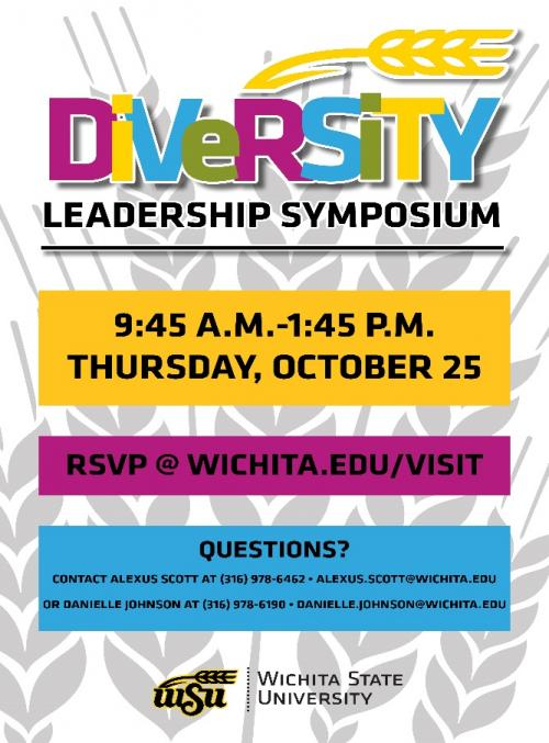 Diversity Leadership Symposium Flyer