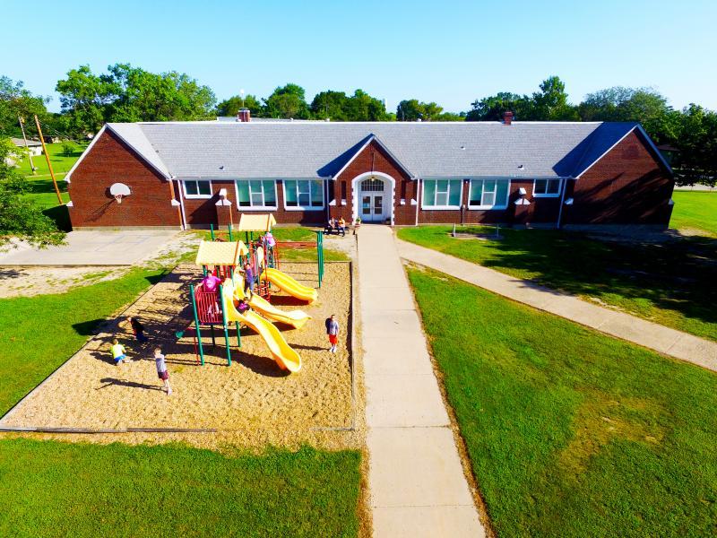 Landscape View facing Gridley Elementary School PK-K