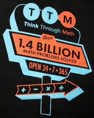 Think Through Math Contest T Shirt