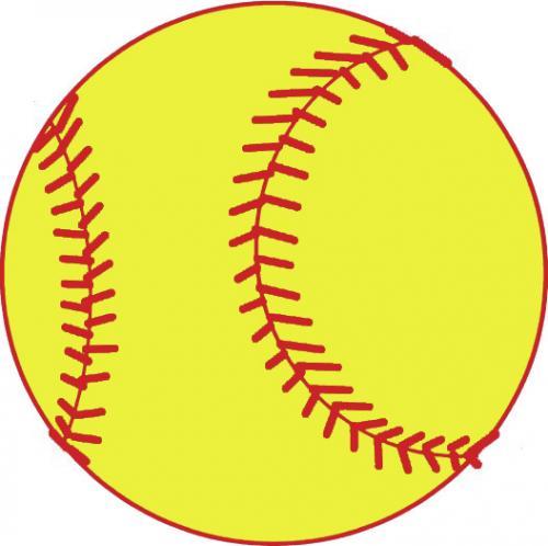 image of a softball