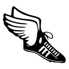 image of a sneaker with wings