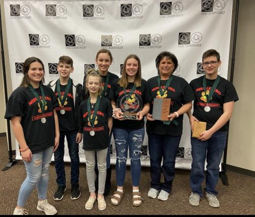 7-8 grade academic team State 2nd place