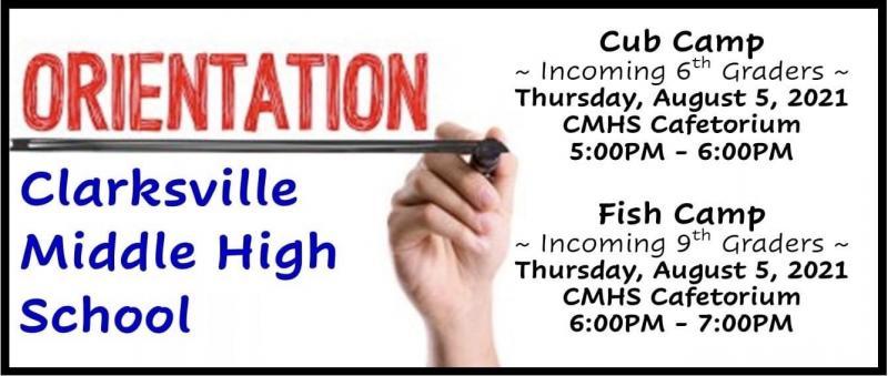6th & 9th Grade Orientation