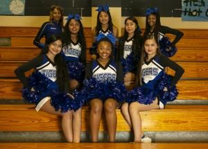 Middle School Cheer Squad