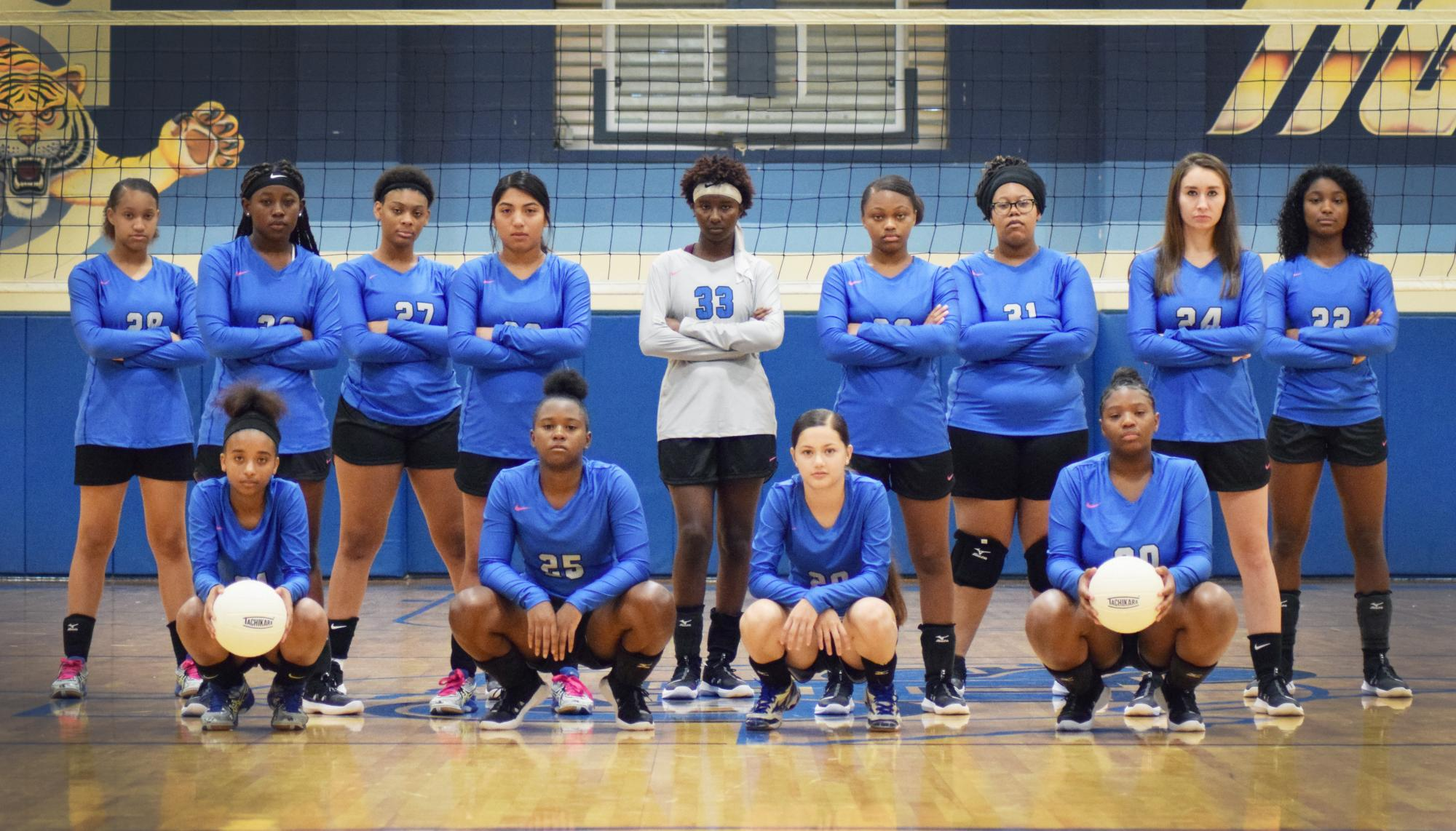 Lady Tiger Volleyball 2019