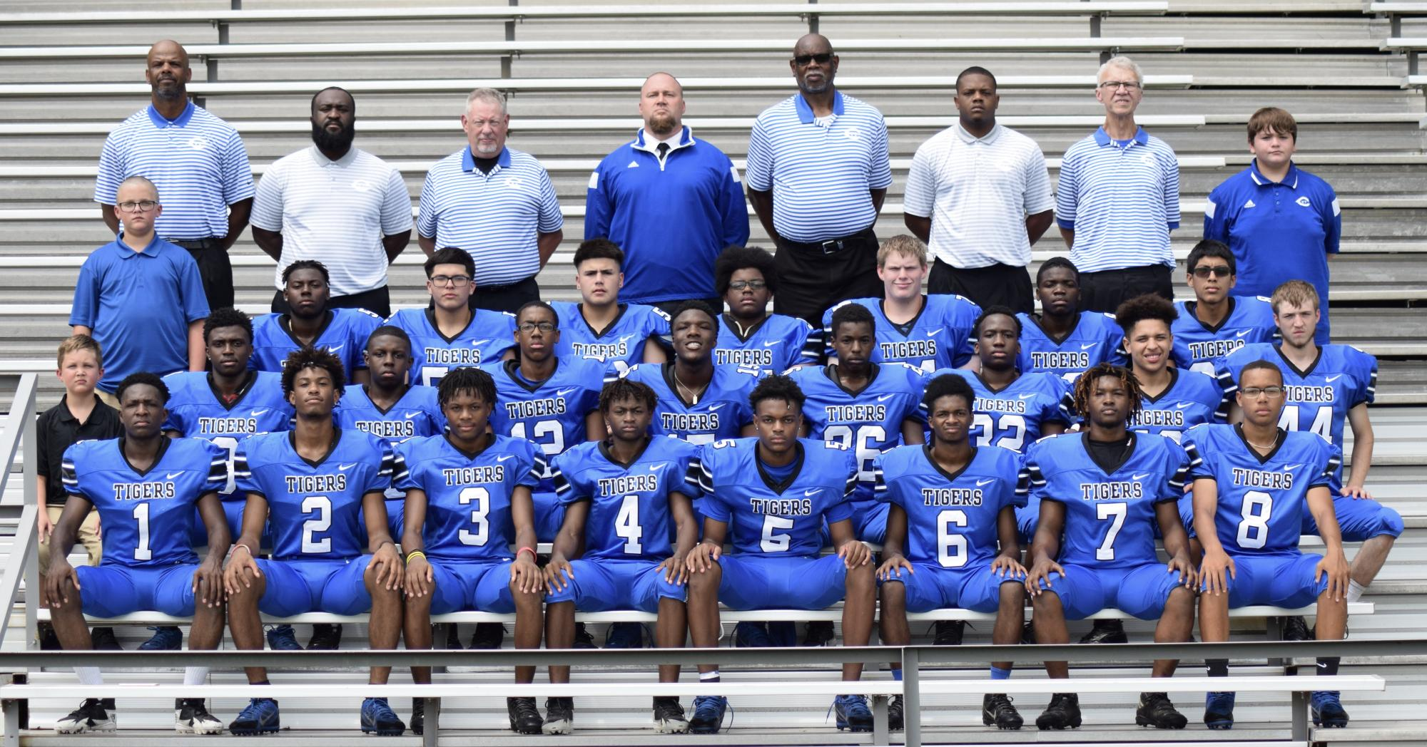 Tiger Football Team 2019