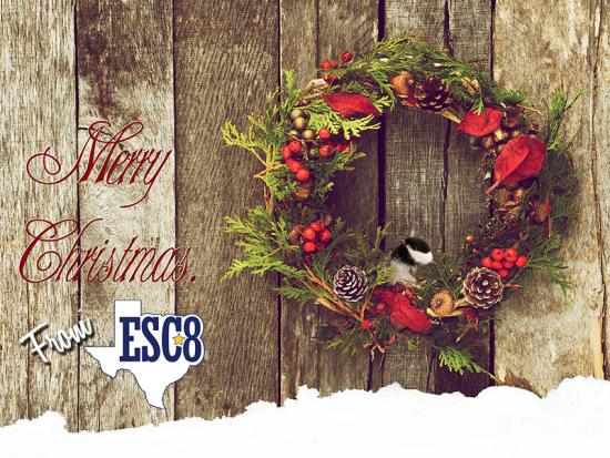 Region 8 ESC Wishes You A Merry Christmas! Be Safe!