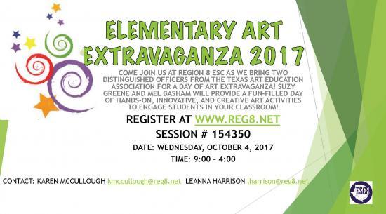 Elementary Art Extravaganza