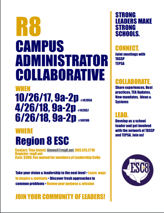 R8 Campus Administrator Collaborative