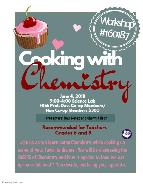 Cooking With Chemistry - June 4th