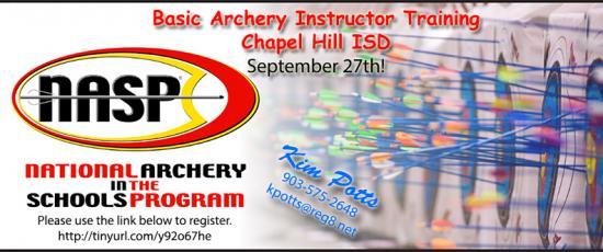 NASP Basic Archery Instructor Training