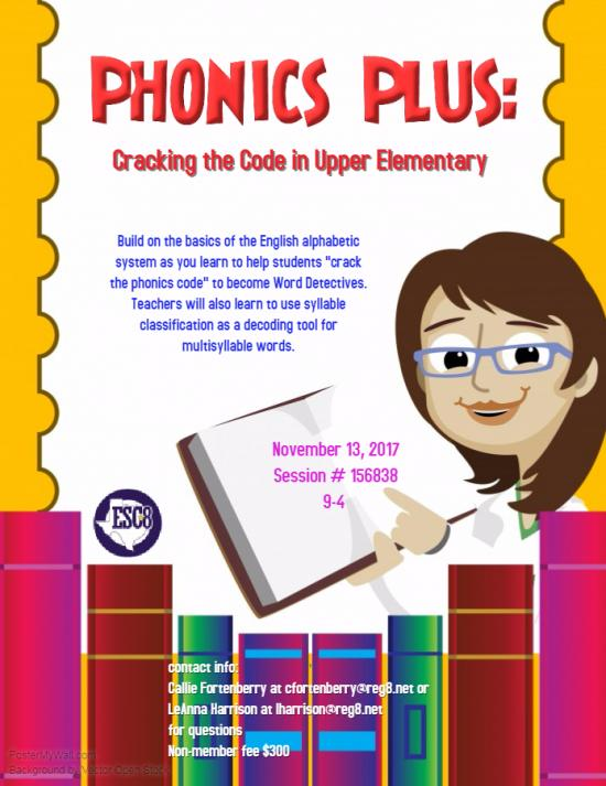 Phonics Plus: Cracking the Code in Upper Elementary