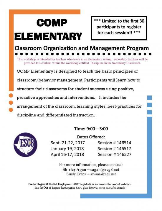 COMP Elementary - April 16-17