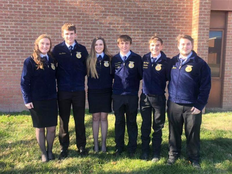 Another great day for Stanton County FFA!